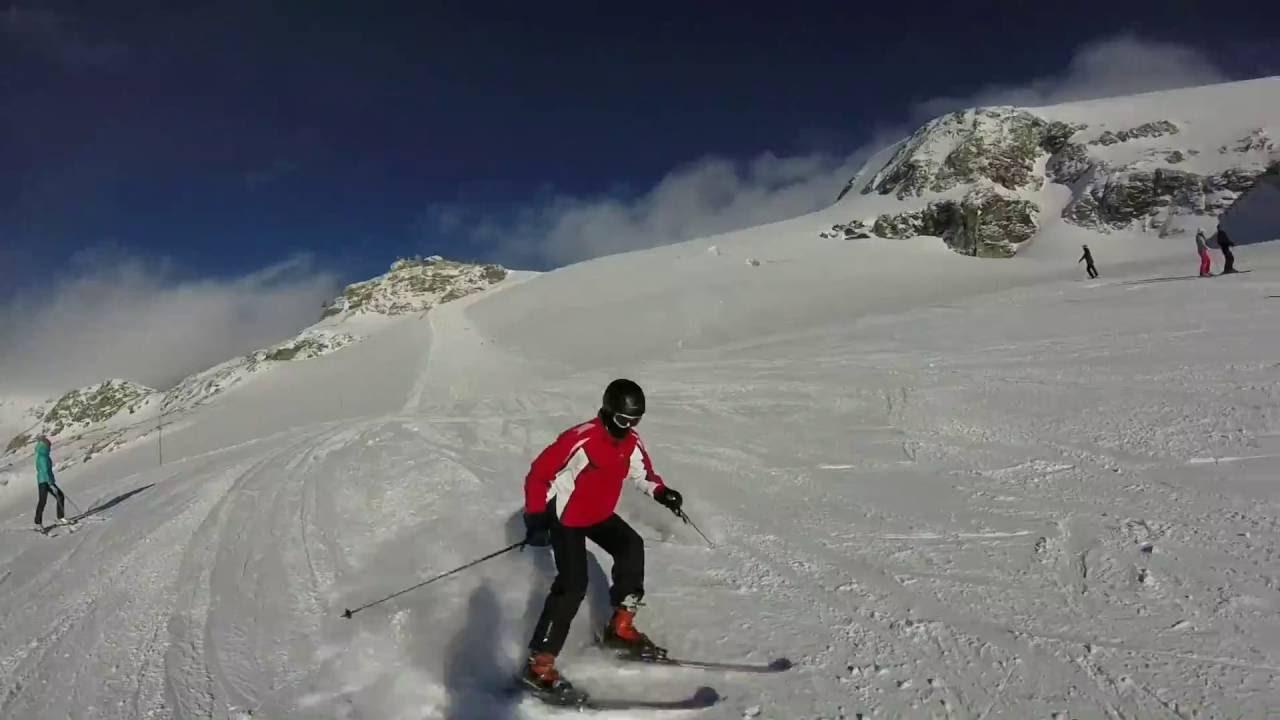 Cervinia skiing 2016