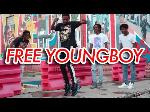 NLE Choppa – FREE YOUNGBOY (Official NRG Video)