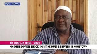 TB Joshua's Kinsmen Express Shock, Insist He Must Be Buried In Hometown