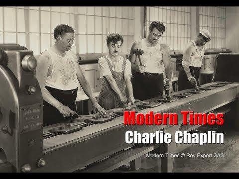 Charlie Chaplin - Factory Scene - Modern Times (1936)