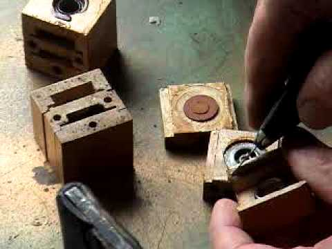 Dismantling Lauter-Humana Block Valve Part 1(Second Technique) by John A Tuttle from Player-Care.com
