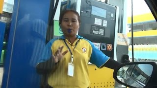 Стоимость бензина и процедура заправки авто в Таиланде