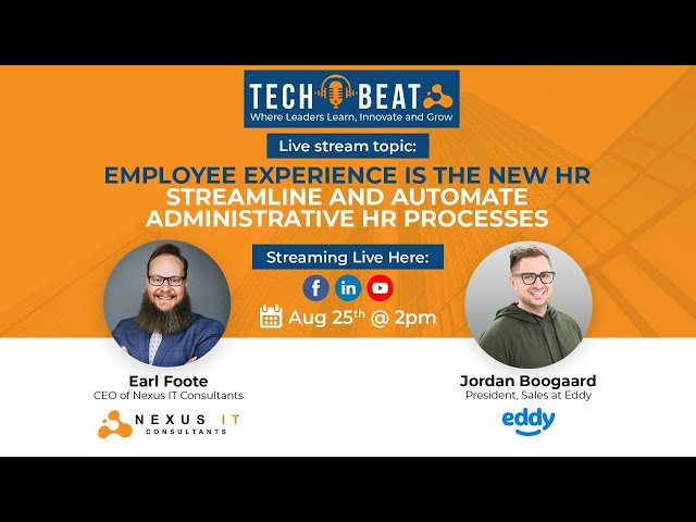 Employee Experience in the New HR: Streamlining and Automating HR Processes
