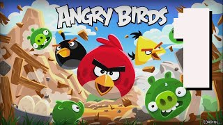 Angry Birds Classic - Episode 1 - Level 1-1 to 1-21 3-Star Walkthrough