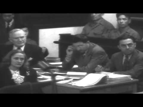 War Crimes Atrocity Trials, Yokohama, Japan, 03/11/1948  (full)
