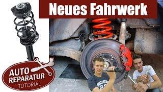 Fahrwerk wechseln - Sportfahrwerk einbauen BMW AUDI VW | Auto Tutorial