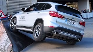 2016 BMW X1 4x4  - Offroad Demo Run