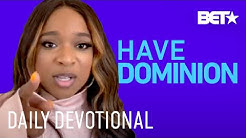 Kierra Sheard Preaches To Have Dominion Amid Coronavirus   Daily Devotional