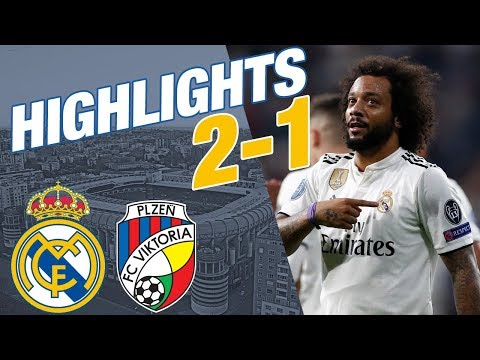 Real Madrid vs Viktoria Plzen | 2 - 1 | ALL GOALS & HIGHLIGHTS thumbnail