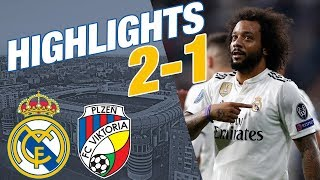 Real Madrid vs Viktoria Plzen | 2 - 1 | ALL GOALS & HIGHLIGHTS