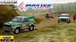 Master Rallye - Gamecube Gameplay 1080p (Dolphin GC/Wii Emulator)