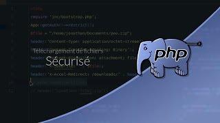 Tutoriel PHP : Téléchargement sécurisé
