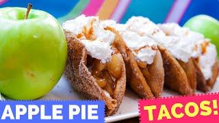 Apple Pie TACOS! - La Cooquette