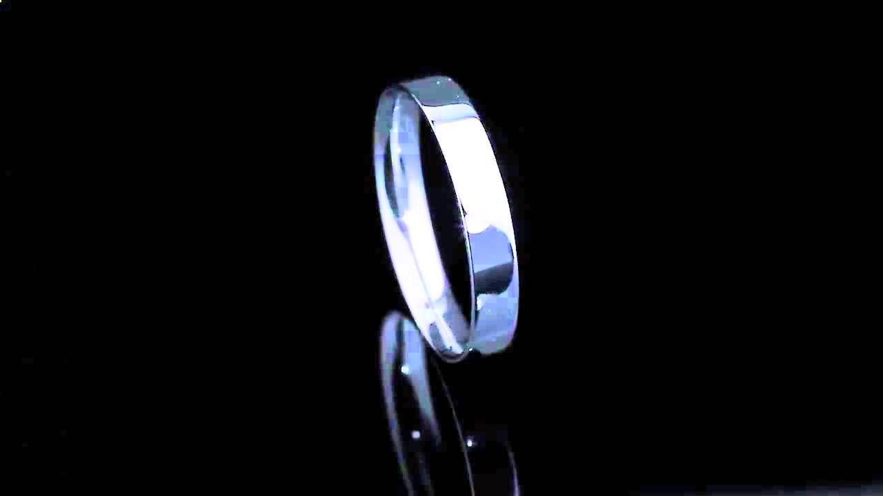 Platinum Lab. Широкое обручальное кольцо из платины с 19 .