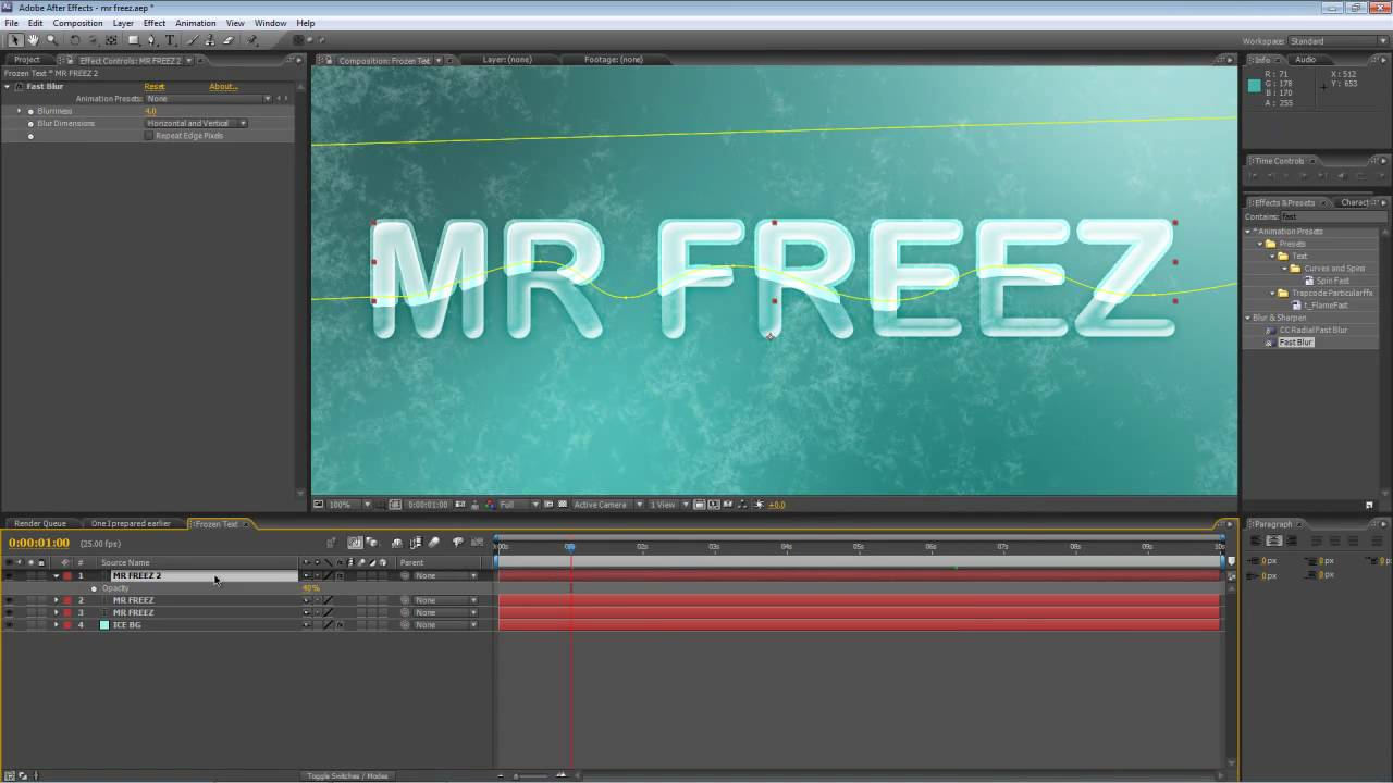 Ice tutorial (adobe after effects) youtube.