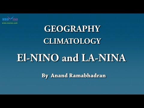 El Nino and La Nina | Climatology | Geography | NEO IAS