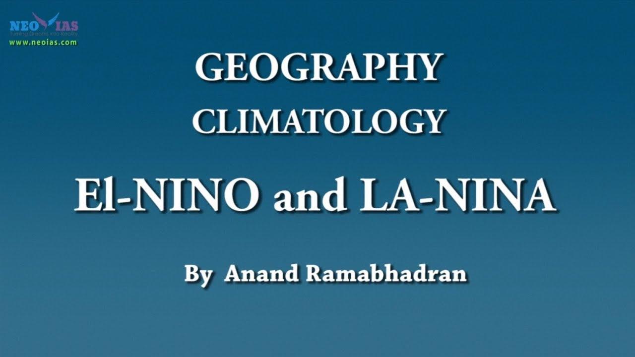 el nino and la nina climatology geography neo ias [ 1280 x 720 Pixel ]