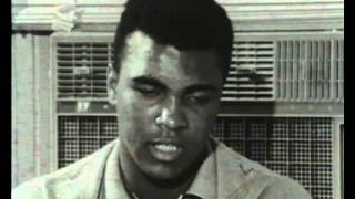 Ali vs Cooper - Muhammad Ali training and trash talking