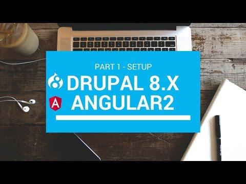 Angular 2 & Drupal 8 Tutorial part 1
