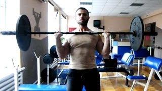 ДЕЛЬТЫ (плечи). Базовый тренинг для роста мышц(Мой сайт http://dmitriyglebov.com/ Индивидуальные программы http://dmitriyglebov.com/individualno/ Страница в Facebook ..., 2013-12-22T07:02:43.000Z)