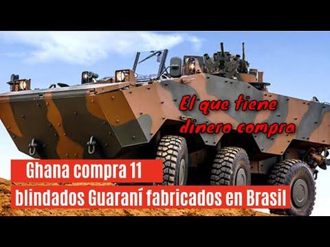 🔴 Elbit Systems suministrará a Ghana 11 blindados Guaraní fabricados en Brasil🔴