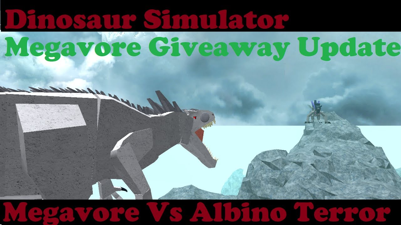 Roblox Dinosaur Simulator - Mega Vs Albino (Battle Of The ...