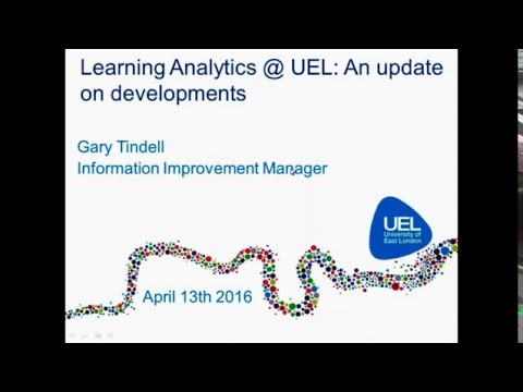 University of East London and BME Solutions Learner Analytics   Qlik Student Engagement Webinar