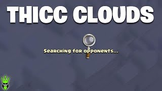 THE CLOUDS IN TITANS ARE INSANE RIGHT NOW! - Clash of Clans