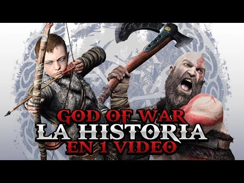 La Historia de God of War en 1 video I Fedelobo