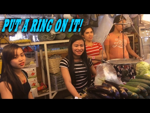 FILIPINO GIRLS LOVE FOREIGNERS | TRIP TO THE MARKET |  Living in the Philippines