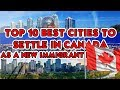 TOP 10 BEST CITIES TO SETTLE IN CANADA AS A NEW IMMIGRANT
