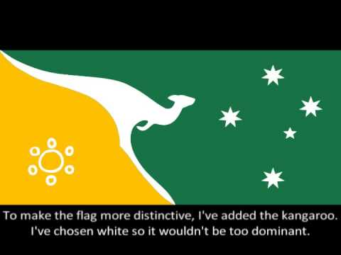australia flag design youtube - Flag Design Ideas