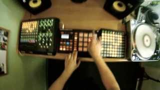 """Need U 100%"" Live Rework (Maschine finger drumming)"