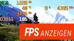 FPS anzeigen lassen - GUIDE! - CPU / GPU Auslastung ingame mit MSI Afterburner