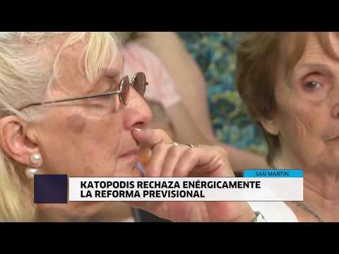 KATOPODIS RECHAZA ENÉRGICAMENTE LA REFORMA PREVISIONAL