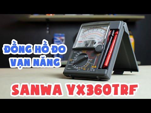 ĐỒNG HỒ ĐO VẠN NĂNG SANWA YX360TRF | REVIEW Chi Tiết