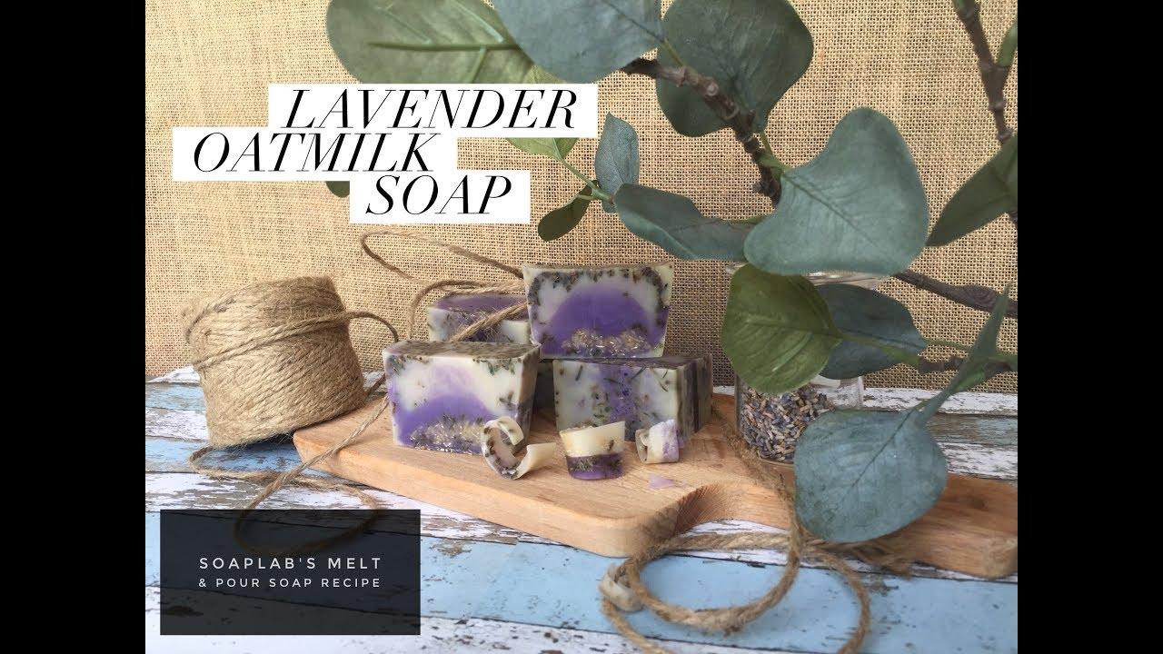 Lavender Oatmeal Soap for Eczema