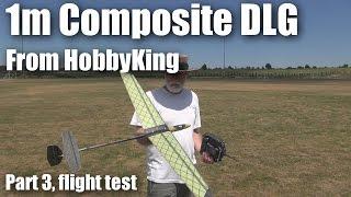 Mini DLG Composite 1000mm from HobbyKing (part 3)