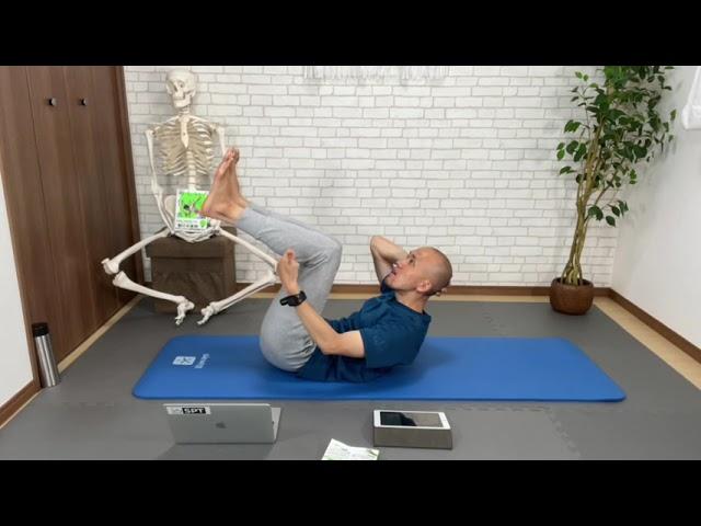 アッパーボディの使い方、新体幹トレーニング(フル)