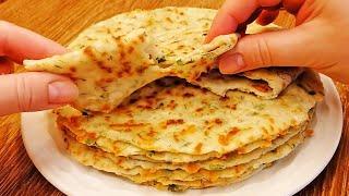 Рецепт для Ленивых Хачапури На Сковороде