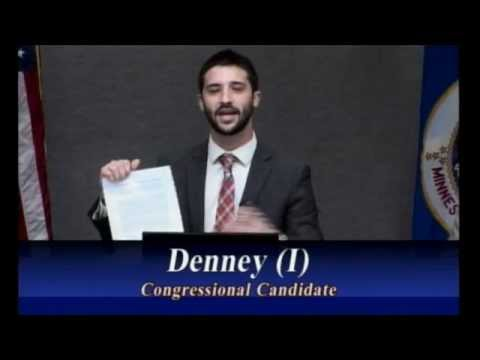 "John Denney Introduces ""Money-Back Guarantee,"" Solves Campaign Finance Reform in America"