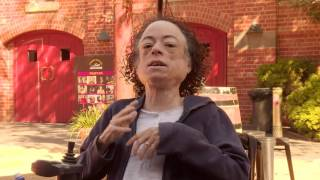 Liz Carr's message to Victoria