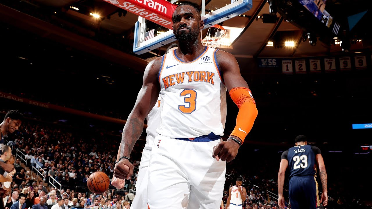 low priced a4976 5654a Analysis: Tim Hardaway Jr. and Kevin Knox Shine vs. Pelicans   New York  Knicks   MSG Networks