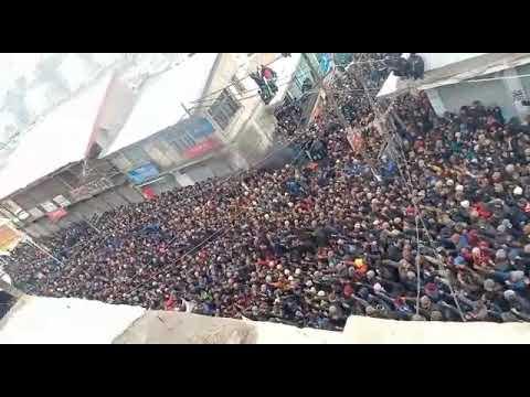 Protest in Kargil over the aganist Gov.Decision of Div.HQ at leh. Mp3