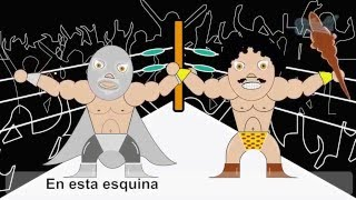 Conjunto África - Los Luchadores (lyric Video)