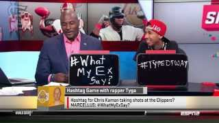 Tyga on SportsNation ESPN2
