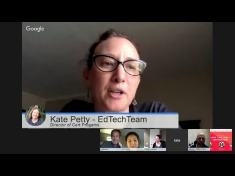 Google for Education Level 2 Certification Bootcamp on Air and Q and A