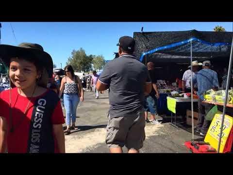Swap Meet, (A Flea Market) San Fernando Valley, Los Angeles - USA