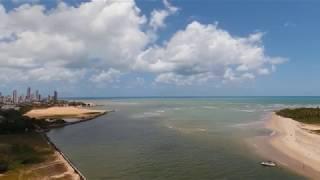 Porto de Galinhas visto de cima.
