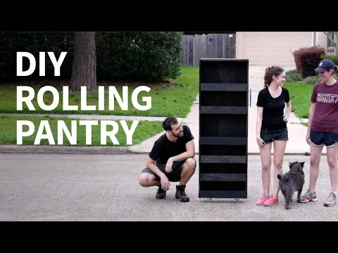 DIY Rolling Pantry | How to